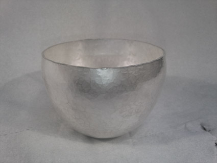 Bowl 2 - before texture/pattern is added.