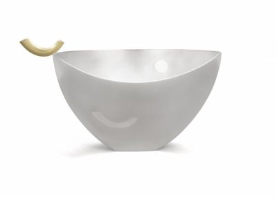 Talisman Bowl Silver bowl with 18 carat gold deta