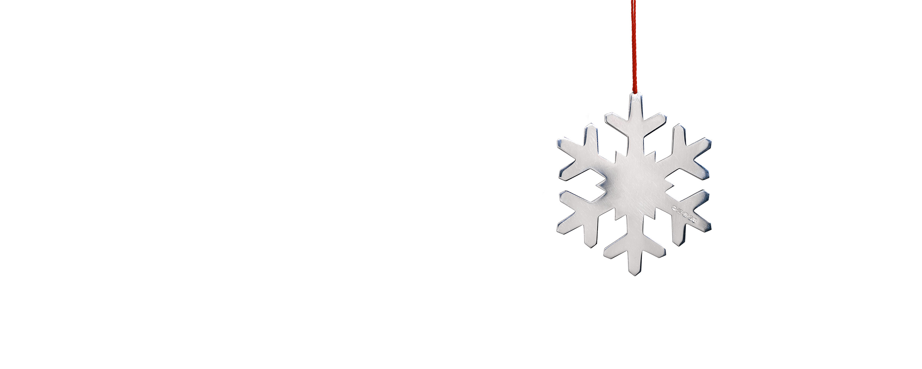 Snowflake Decoration by Angela Cork