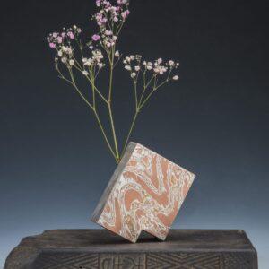 冯异 - 木纹金 花瓶(花入角)