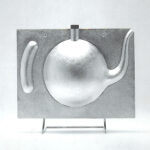 Limited Edition Tea pot designed for Ice tea. The first ever designed in Sterling Silver. The concept derives from the 'brown betty', a common and every day vessel that is associated with British heritage and culture of tea drinking.  The Ice teapot concept was created in 1998 and has become one of Rajesh's signature pieces collected by Museums and collectors around the world.