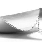 Unzipped Detail in Silver Split Bowl