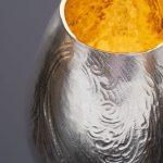 Detail of raised beaker