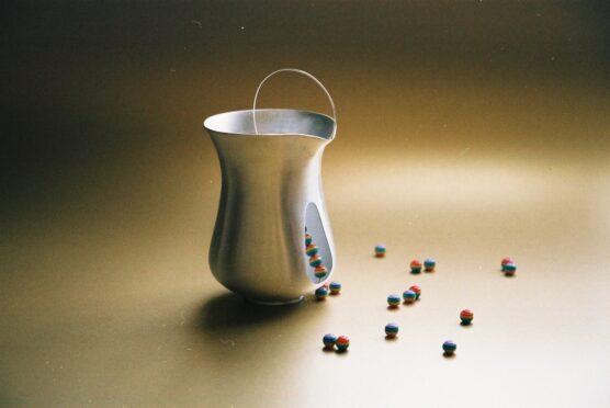 Jug with beads