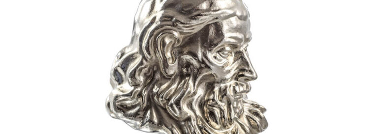 Brilliant Silver: Making a Silver Sculpted Head