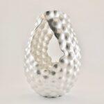Mollusc Vase, Fine Silver