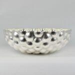 Bulbous Bowl, Fine Silver