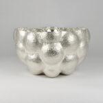 Boulders Bowl, Fine Silver