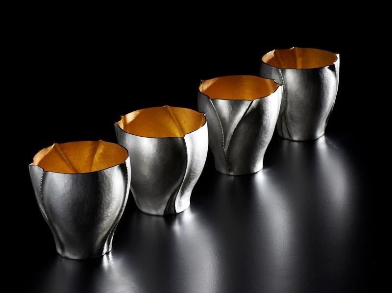 Rivulet Beakers by Rauni Higson