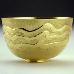 Chased and gilded bowl