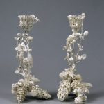 Frozen Forest - Pair of Candle Sticks