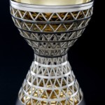Gravitational Pull Goblet Sterling silver, gold plating  L/W/H: 80x80x120mm  2014  Photography: Graham Clark